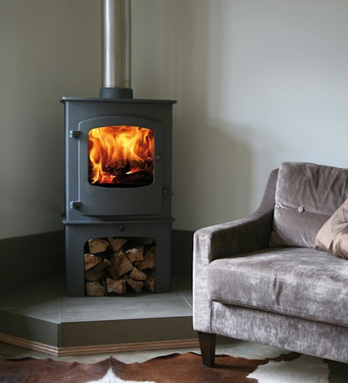 Charnwood Cove 2B Boiler Stove par Direct Stoves Rural