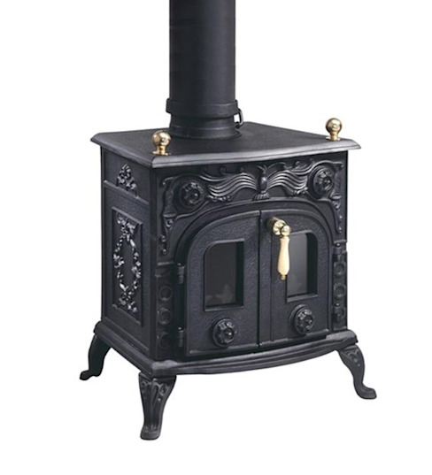 Evergreen Flatford Multifuel Stove van Direct Stoves Landelijk