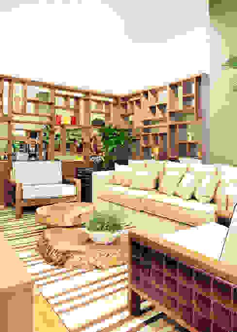 Adriana Scartaris: Design e Interiores em São Paulo의  주택