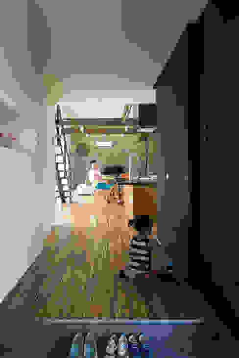 玄関ホワイエ 花田設計事務所 玄関&廊下&階段アクセサリー&デコレーション