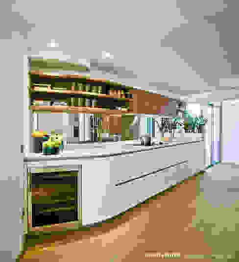 Penthouse Manuel Ocaña Architecture and Thought Production Office Cocinas de estilo ecléctico