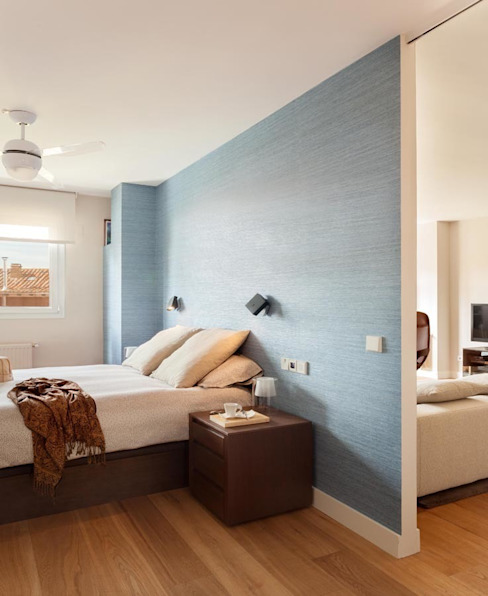 Dormitorio Dormitorios de estilo minimalista de ESTER SANCHEZ LASTRA Minimalista
