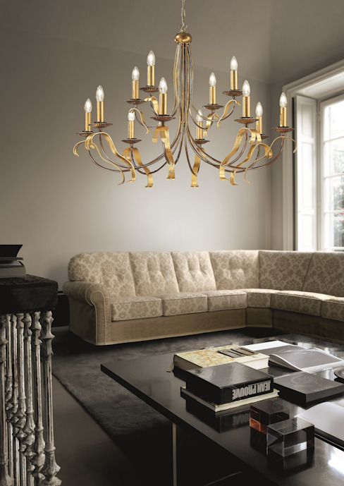 Modern living room by Highlight Aydınlatma Modern
