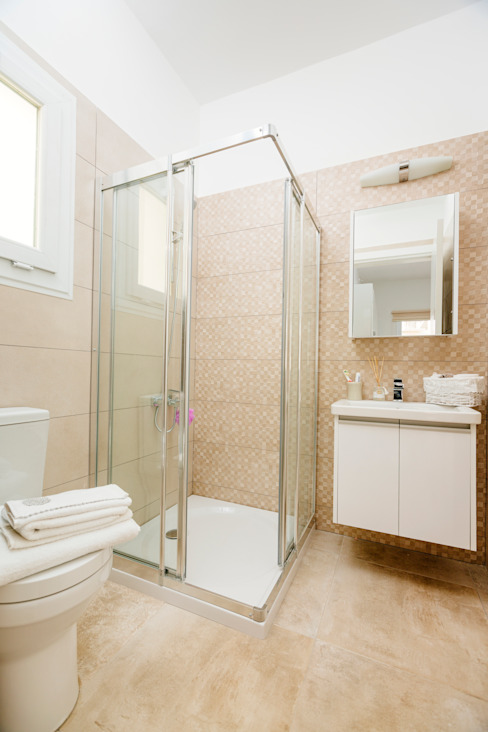 Kıbrıs Developments Modern bathroom