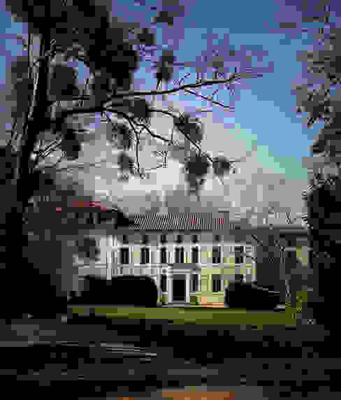 Chateau en CHALOSSE par EURL Cyril DULAU architecte Rustique