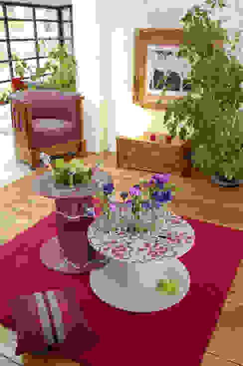 Séjour ouvert sur l'extension Salon moderne par Natalie Brun d'Arre Moderne
