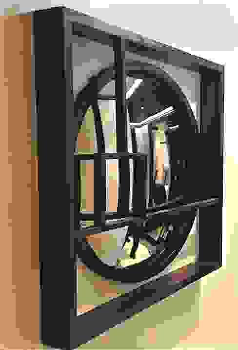 Bespoke Wooden Frame - Convex Mirror de Alguacil & Perkoff Ltd. Moderno