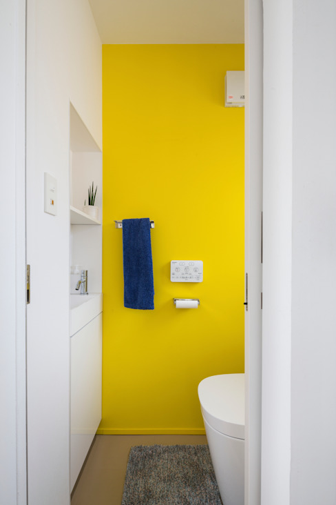 Modern Banyo Studio R1 Architects Office Modern