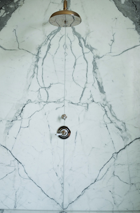 Statuary Marble Wetroom :  Bathroom by Stone Age,