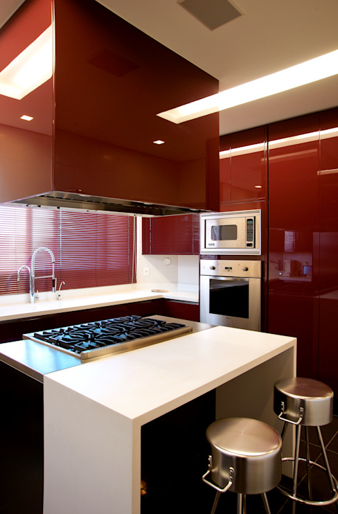 Cocinas de estilo clásico de Brunete Fraccaroli Arquitetura e Interiores Clásico
