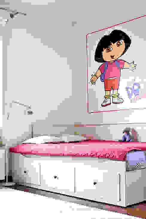Pokój Mai. Miśkiewicz Design For Kids Skandynawski pokój dziecięcy
