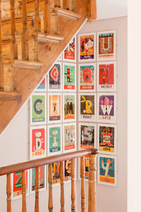オリジナルスタイルの 玄関&廊下&階段 の homify オリジナル