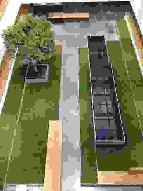 Atrium 1 Minimalistische Bürogebäude von art aqua GmbH & Co. KG Minimalistisch