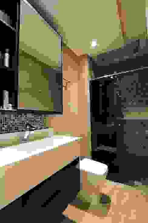 ZAAV-Apartamento-Interiores-1318 ZAAV Arquitetura Banheiros minimalistas
