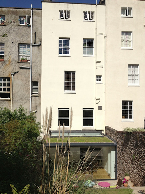 Extension to Grade II* listed building in Clifton Modern houses by Dittrich Hudson Vasetti Architects Modern
