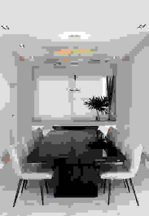 Modern dining room by Andréa Menezes & Franklin Iriarte Modern
