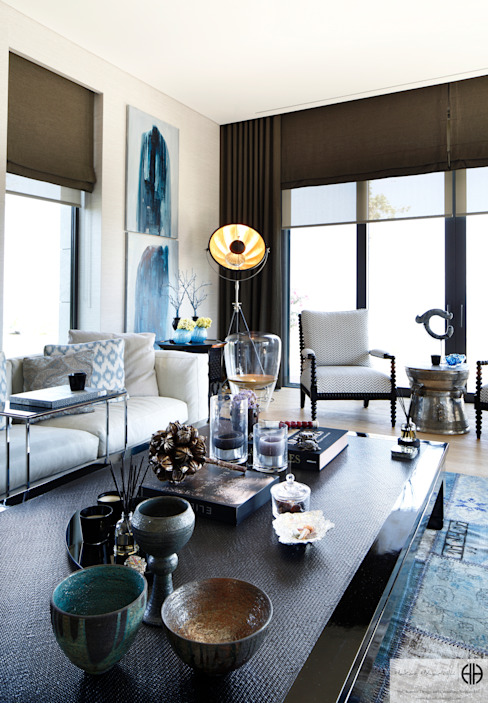 Living room by homify, Modern