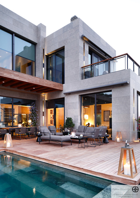 Varandas, alpendres e terraços modernos por homify Moderno