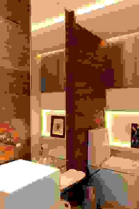 Apartamento 1000 1000 Banheiros modernos por Carlos Otávio Arquitetos Moderno