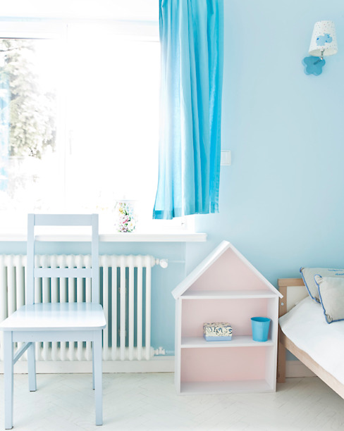 Scandinavian style nursery/kids room by Miśkiewicz Design Scandinavian