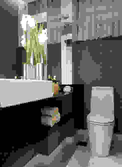 Descanso na cidade ArchDesign STUDIO Banheiros modernos