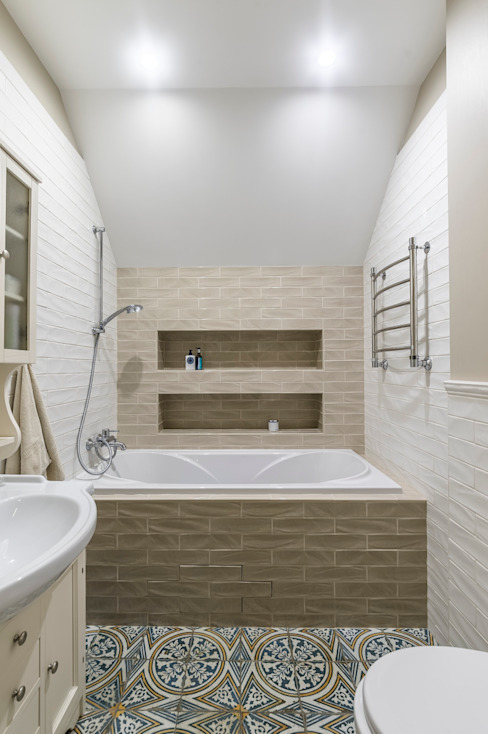 Scandinavian style bathroom by Belimov-Gushchin Andrey Scandinavian