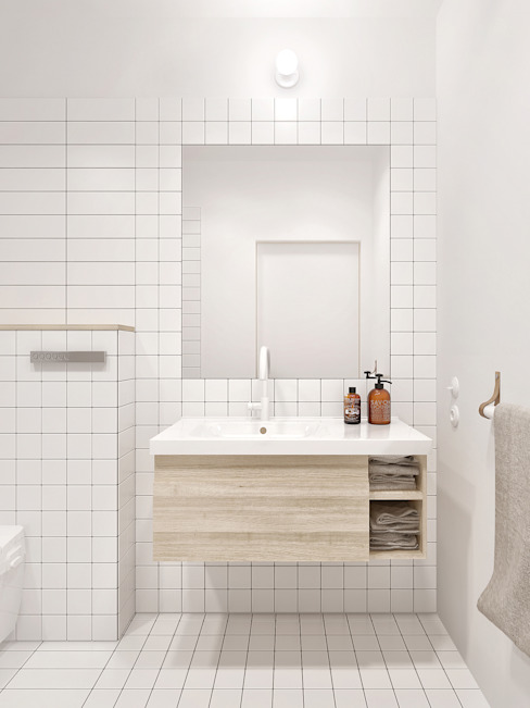 Bathroom by INT2architecture, Minimalist