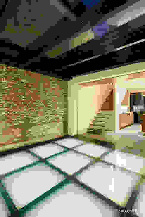 ITC Annex - glass hall Mirck Architecture Moderne gangen, hallen & trappenhuizen