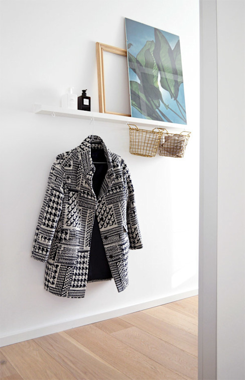 Ruang Ganti Gaya Skandinavia Oleh Kristina Steinmetz Design Skandinavia