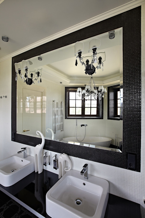 Baños de estilo  por point-design.ru,
