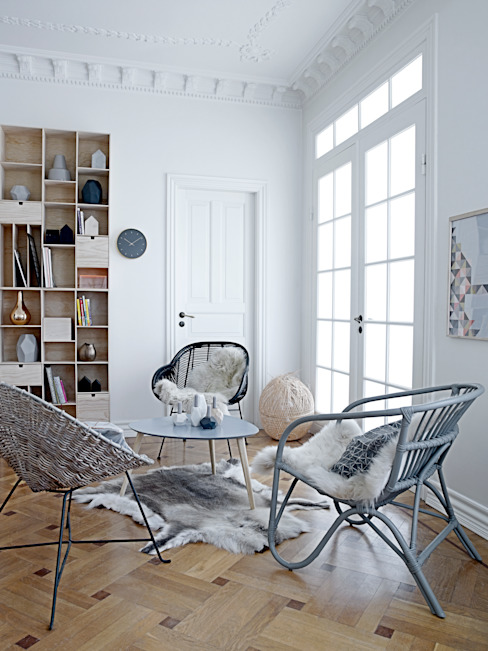 A Space To Relax In Soggiorno in stile scandinavo di House Envy Scandinavo