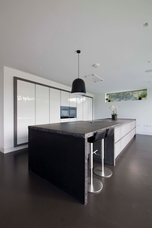 Beechwood House cu_cucine Casas modernas