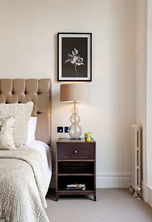 Chelsea Family House Black and Milk | Interior Design | London Classic style bedroom