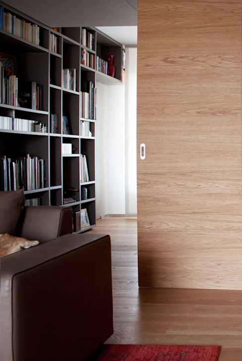 Modern Study Room and Home Office by davide petronici   architettura Modern