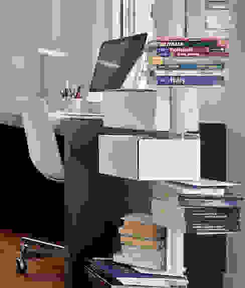 Projekty,  Domowe biuro i gabinet zaprojektowane przez Urbana Interiorismo, Nowoczesny