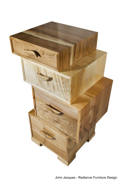 The Heeley Magnetic Stack di Radiance Furniture Design Moderno