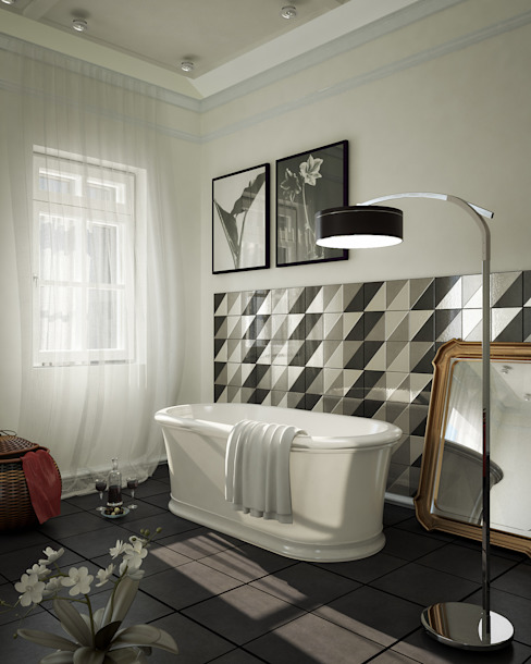 Interiors | Bathroom Klasyczna łazienka od DesigniTures Klasyczny
