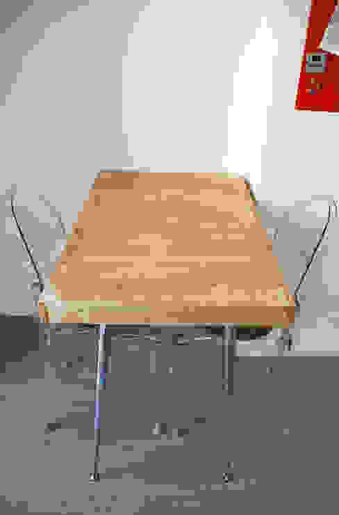 Appartamento sul lago Cucina minimalista di studio 'dragora architettura e paesaggio Minimalista