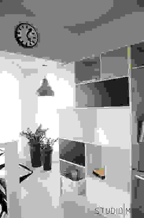 Realizacja projektu kuchni w domu jednorodzinnym od STUDIO MAC Nowoczesny