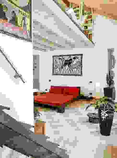 Dormitorios de estilo ecléctico de orlandini design sas Ecléctico