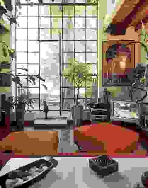 Salones de estilo ecléctico de orlandini design sas Ecléctico