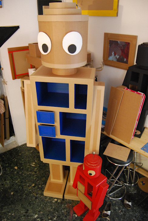 Robot For Ever by Original karton (avignon) Original Karton Chambre d'enfantsRangements