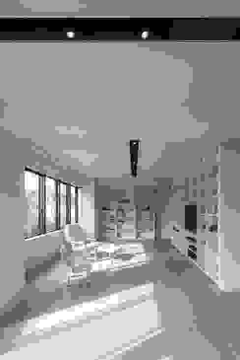 村川美紀建築設計事務所 Modern media room
