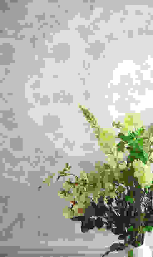 Private Residential Commission, North London Laura Felicity Design Klassischer Flur, Diele & Treppenhaus Blau