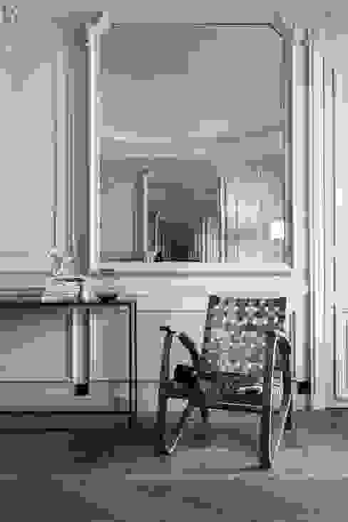 Paris 75006 Salon minimaliste par César Pupat Architecture intérieure Minimaliste