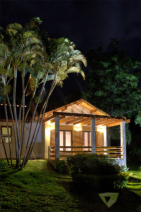 Olaa Arquitetos Country style house