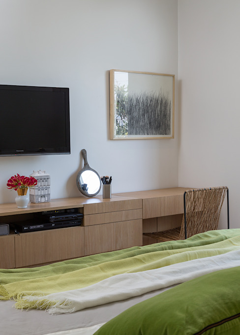 트로피컬 침실 by SALA2 arquitetura e design 휴양지