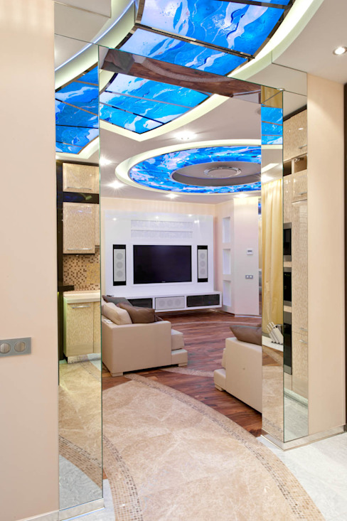Квартира: Гостиная в . Автор – Кирилл Губаревич, Классический