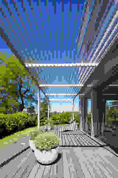 Mediterranean style garden by studio di architettura via bava 36 Mediterranean