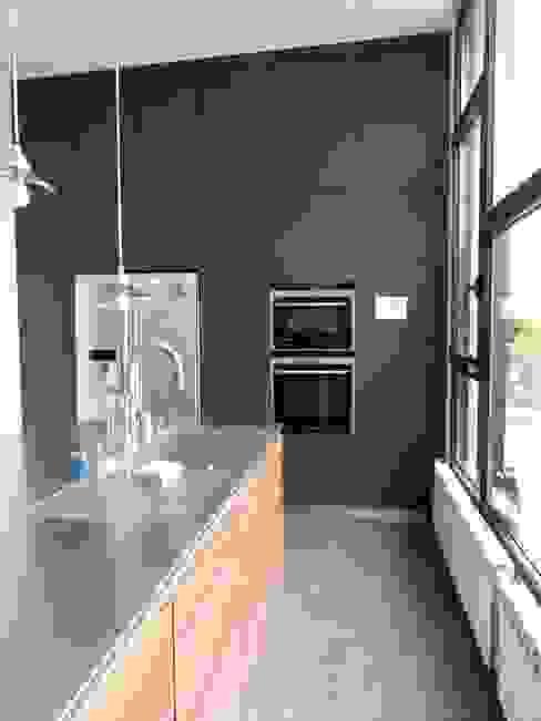 extension pour une nouvelle cuisine Cuisine minimaliste par karine penard Minimaliste